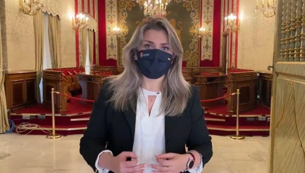 Mari Carmen Sánchez vicealcaldesa de Alicante y responsable del área LGTBI