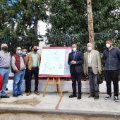 Presentación de los alumbrados en los diseminados de Chiclana