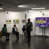 Presentación de la campaña 'Nuestras madres, nuestra memoria' en el Museo de la Cuchillería de Albacete.