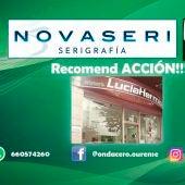 Recomend ACCION!!! con Perruquería Lucía Hermida
