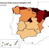 Quant temps trigarà Espanya a tenir uns ingressos per familia elevats?