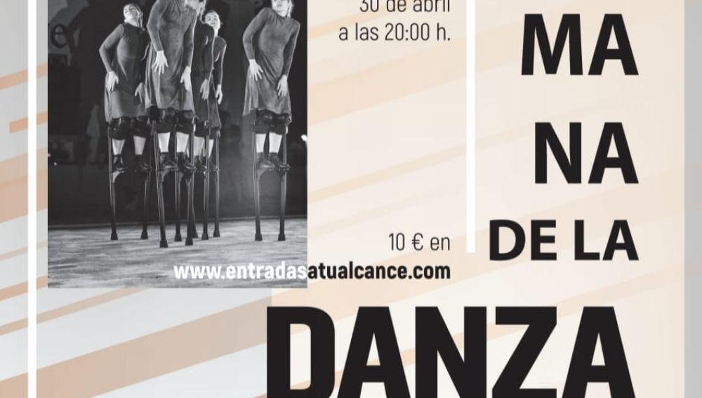 """El instituto Municipal de Cultura """"Joaquín Chapaprieta"""" anuncia que, con motivo del Día Internacional de la Danza, que se celebra mañana jueves, 29 de abril"""