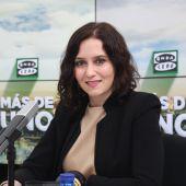 Isabel Díaz Ayuso con Carlos Alsina en Más de Uno