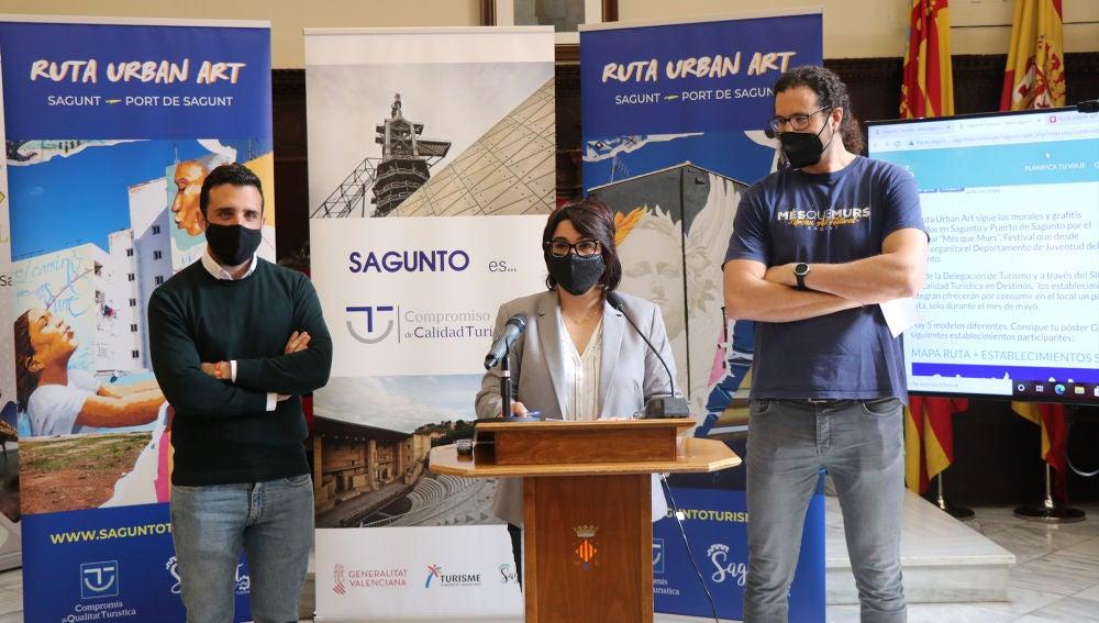 Urban Art, una ruta para impulsar la cultura, la gastronomía y la economía del municipio se pone en marcha en Sagunto