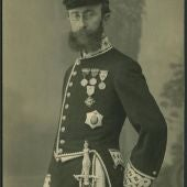 Pelayo Quintero, en una foto histórica