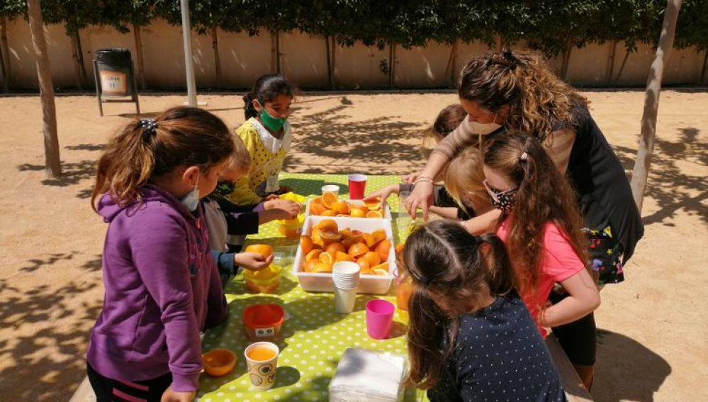 Con el objetivo de fomentar el consumo de la fruta y la verdura y que sufrieron un parón por culpa de la pandemia