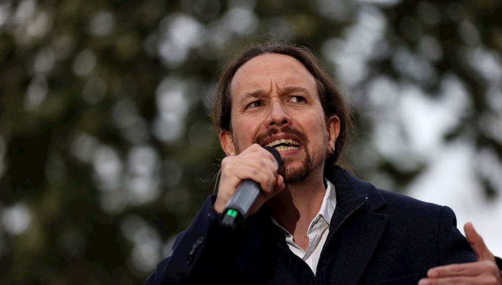 El candidato de Unidas Podemos a la Comunidad de Madrid, Pablo Iglesias.