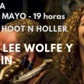 Michael Lee Wolfe presenta Hoot' n' Holler con Puri Penin este sábado