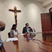 Rueda de prensa en el Obispado de Ciudad Real