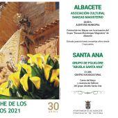Magisterio visita el Auditorio Municipal para el canto del Mayo