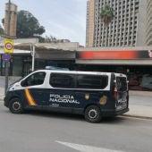 furgon policia nacional benidorm