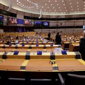Vista del Parlamento Europeo