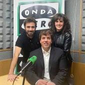 Jorge Tirapu, Milagros Vidondo y Aitor PLaza