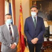 José Luis Escrivá, Ministro de Migraciones, visita la Oficina de Extranjería de la Subdelegación del Gobierno en Albacete