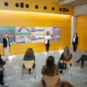 Instantes de la presentación con la alcaldesa Patricia Cavada