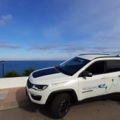 Jeep Compas Hybrid en las playas de Oropesa del Mar.