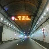 Reabierto al tráfico el túnel del Folgoso en A Cañiza