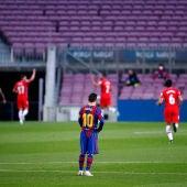 Paso atrás del Barça en la liga