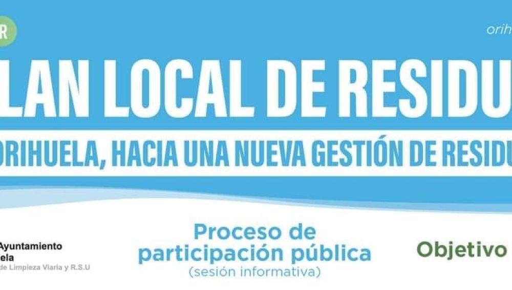 Se pretende recoger las propuestas de los distintos colectivos con objeto de alcanzar las necesidades y afinidades de los ciudadanos de Orihuela