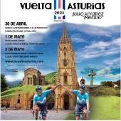 Cartel de la Vuelta Ciclista Asturias 2021
