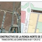 Proyecto de construcción de la Ronda Norte cuyas obras ya han finalizado