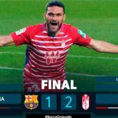 Barcelona 1 Granada 2