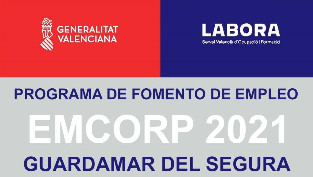 LABORA ha publicado en su página web el listado de importes propuestos para entidades locales del programa de Fomento de Empleo EMCORP 2021