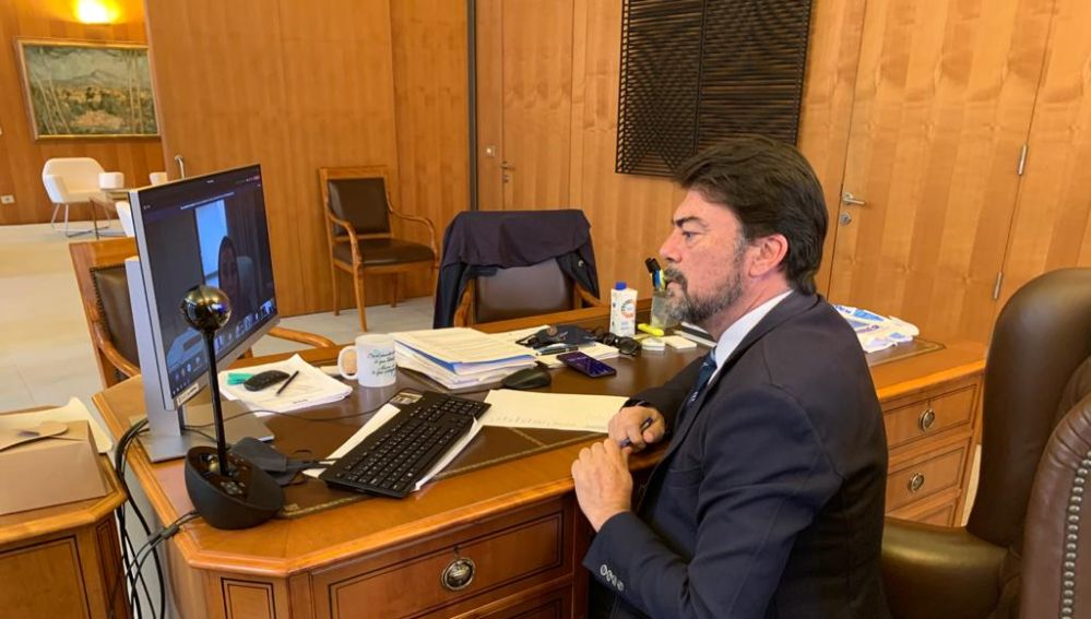 Luis Barcala.- Alcalde de Alicante