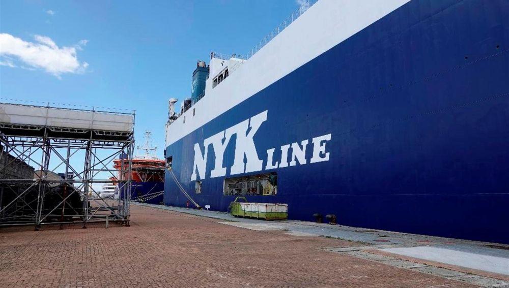 Galicia confirman tres casos de la variante india entre los tripulantes del barco atracado en Vigo