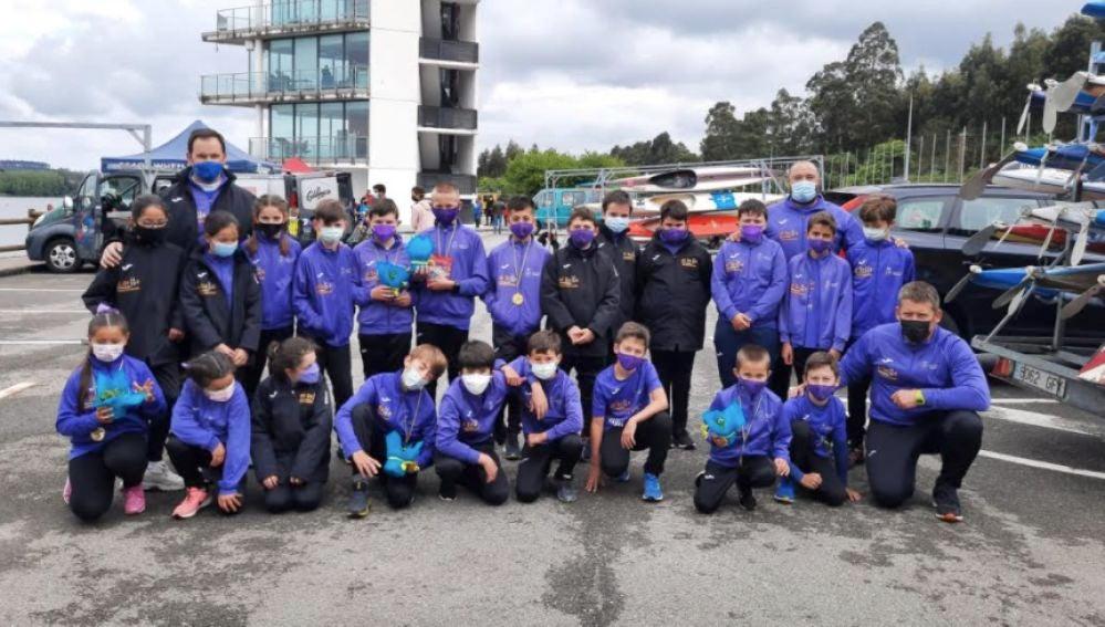 El Club Piragüismo El Sella ha sido el gran triunfador en los Campeonatos de Asturias de Promoción