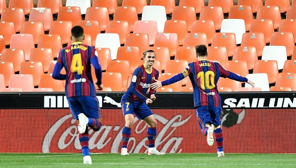 El Barça sigue en la lucha por la liga