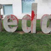 Actos vandálicos perpetrados en la sede de Feda