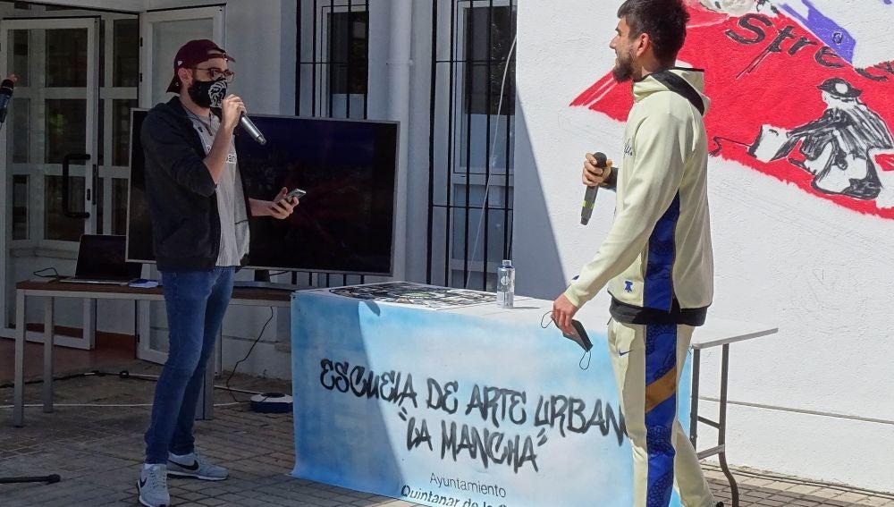 """La Escuela de Arte Urbano """"La Mancha"""" ya es una realidad en Quintanar"""