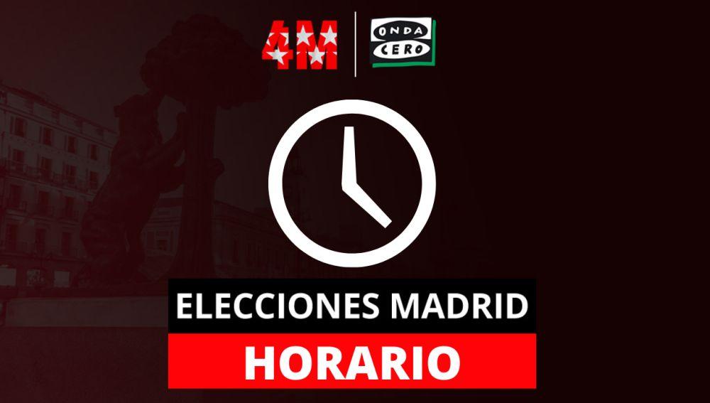 Elecciones Madrid: hasta qué hora se puede votar y están abiertos los colegios, y franjas horarias