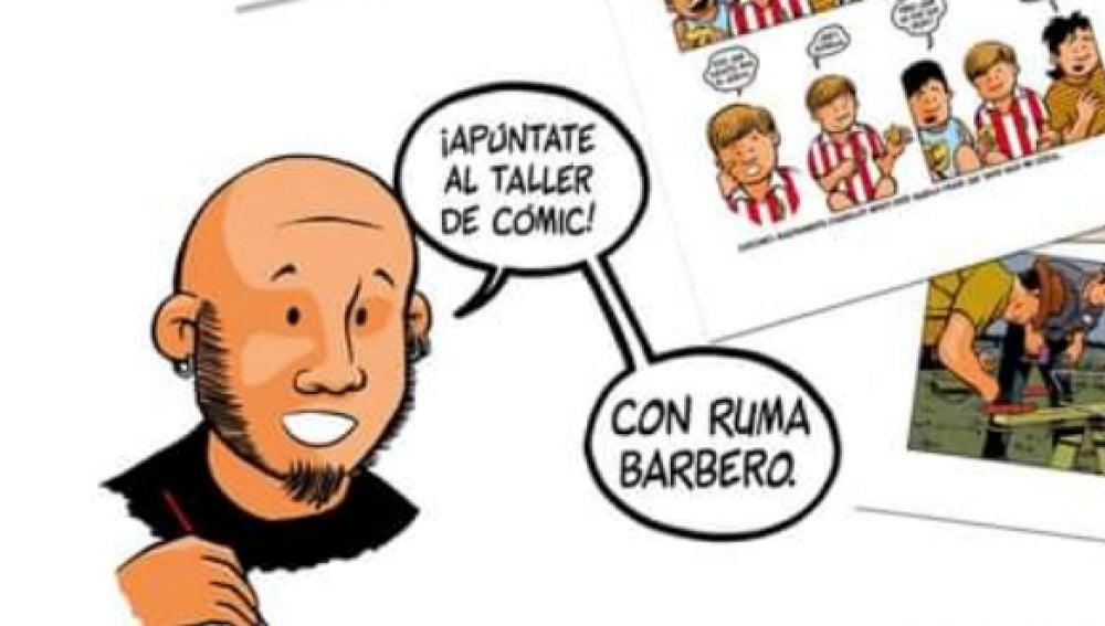 Ruma Barbero imparte este sábado un taller de cómic en Colunga