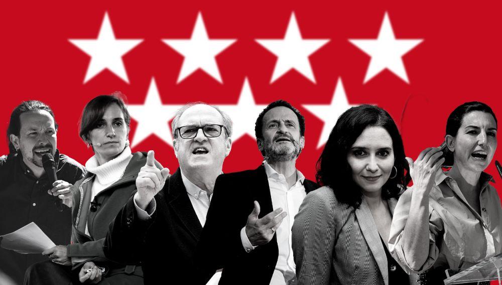¿Qué partidos se presentan a las elecciones de Madrid?