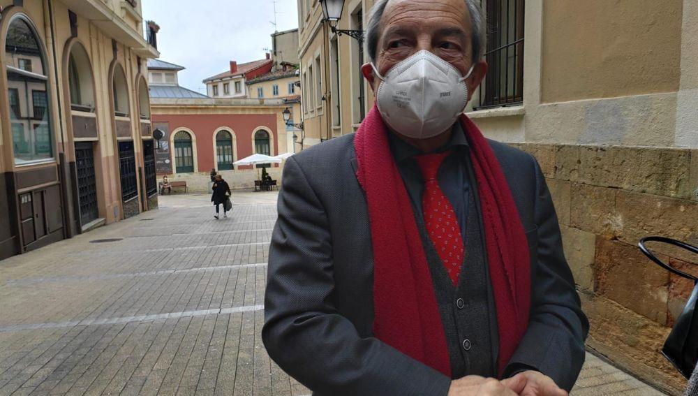 Wenceslao López, portavoz del PSOE en el Ayuntamiento de Oviedo.