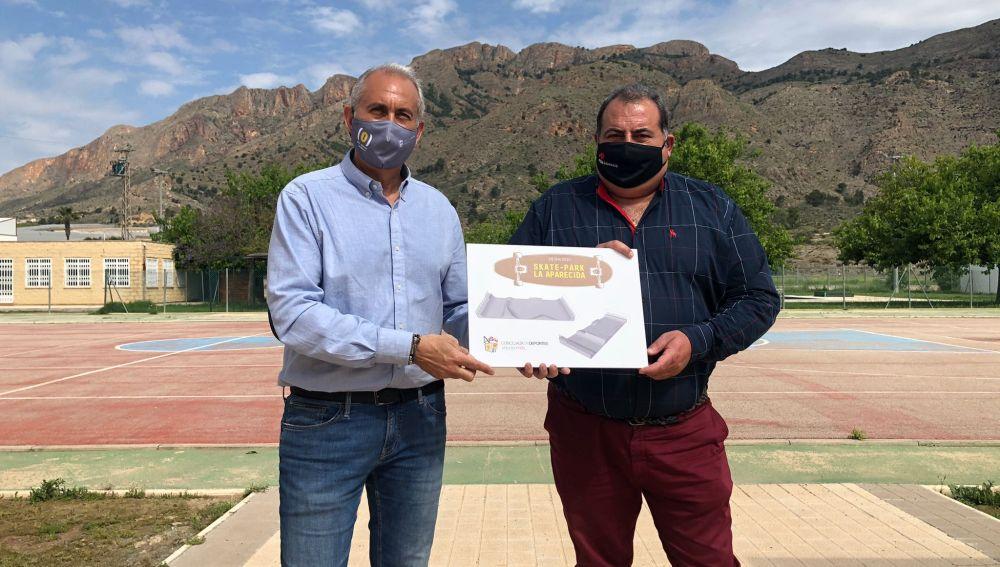 El Skatepark de La Aparecida tendrá una inversión de 55.011,54 euros y un plazo de ejecución de dos meses, desde la firma del acta de replanteo