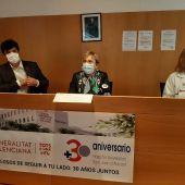La consellera en el XXX aniversario del hospital de Sant Joan
