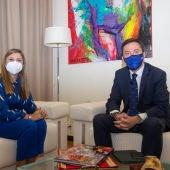 Irene García y Ricardo Domínguez