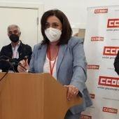 Inmaculada Ortega, nueva secretaria general de CCOO