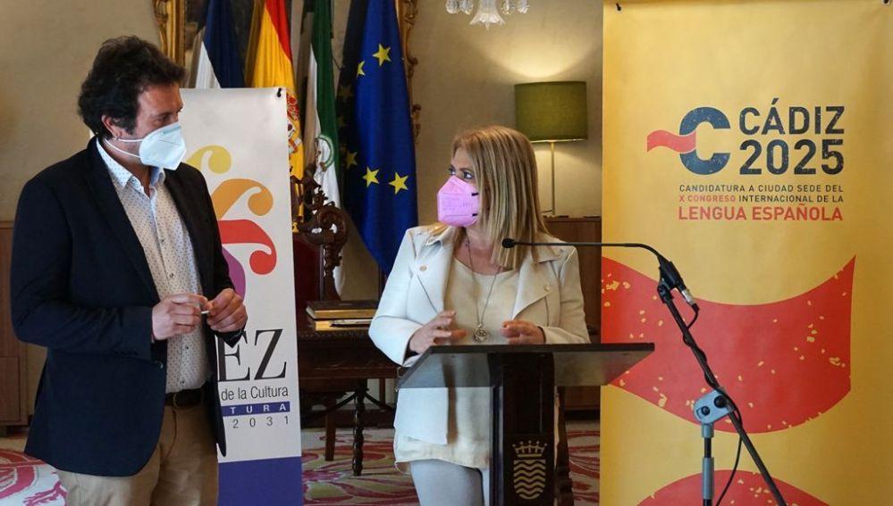 José María González y Mamen Sánchez