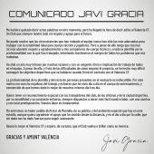 """Javi Gracia:"""" Las circunstancias que han rodeado al equipo nunca han sido las más adecuadas"""""""