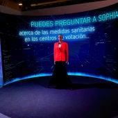 Sophia, el robot de las elecciones en Madrid