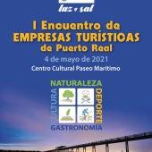 Cartel de las jornadas convocadas en Puerto Real