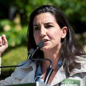 La candidata de Vox a las elecciones de Madrid, Rocío Monasterio