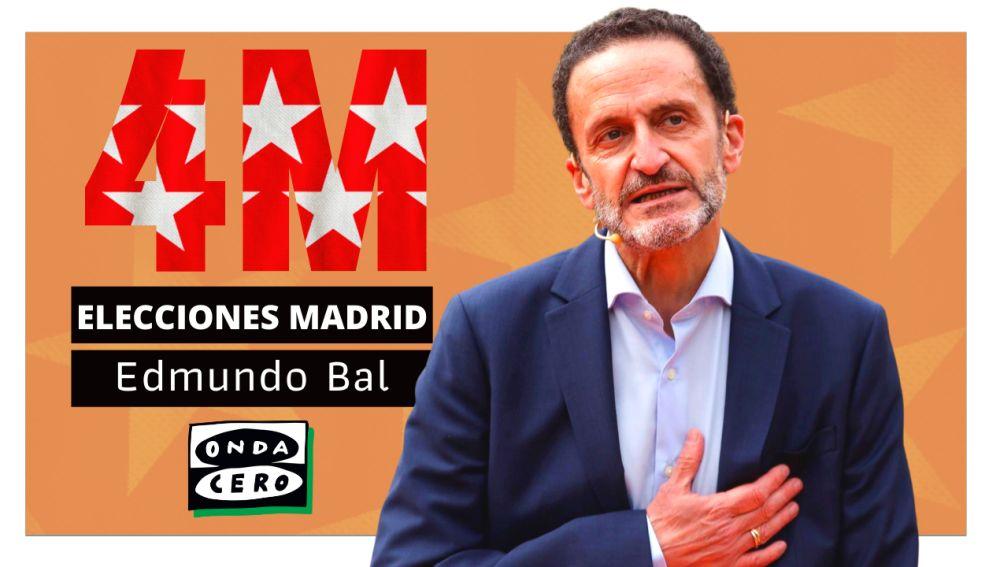 Así es Edmundo Bal, candidato de Ciudadanos en las elecciones de Madrid
