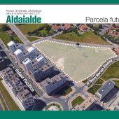 Parcela colegio Aldaialde Vitoria