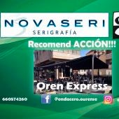 Recomend ACCION!!! con Oren Express