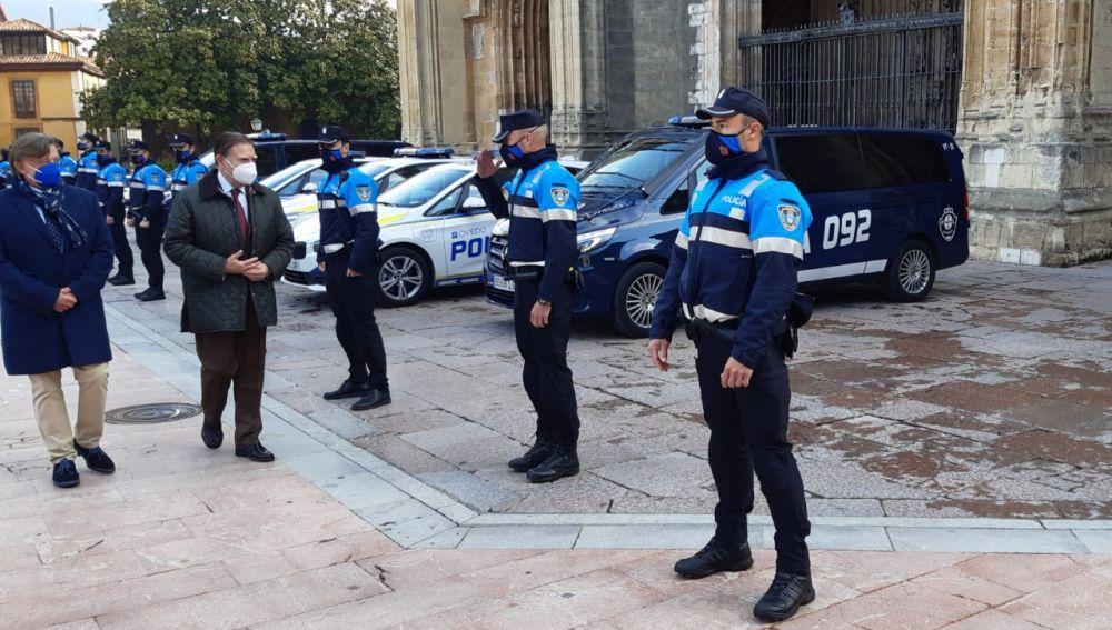 Más agentes en la policía local de barrio
